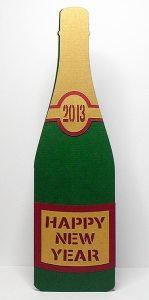 Champagne New Year Card