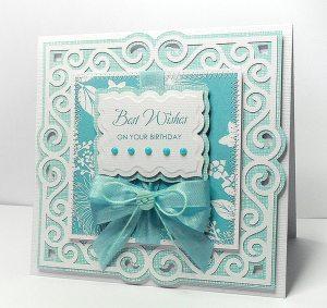 Swirly Frame 7 card