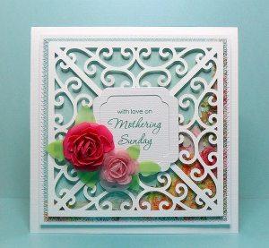 swirl frame 1 card