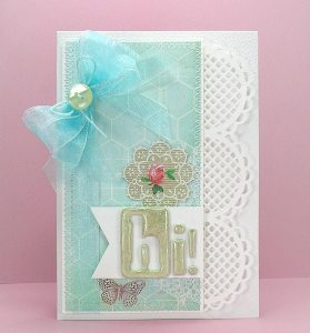 hi lacey border card