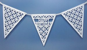 happy birthday pennant
