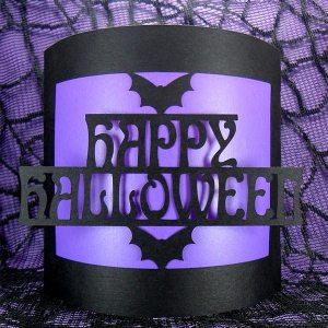 happy halloween bendy card