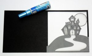 Haunted House Card 2