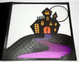 Haunted House Card 5
