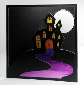 Haunted House Card 7