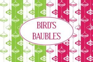 Birds Baubles