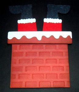 Stuck Santa Card 3
