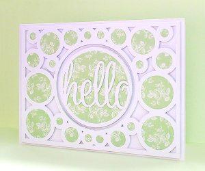 card cover 2 hello card