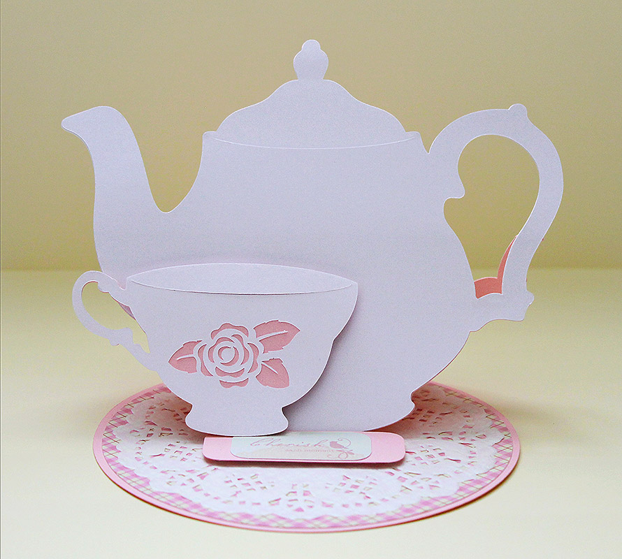 Открытка с чайником