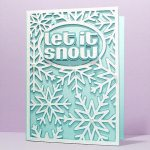 Snowflake Card Cover