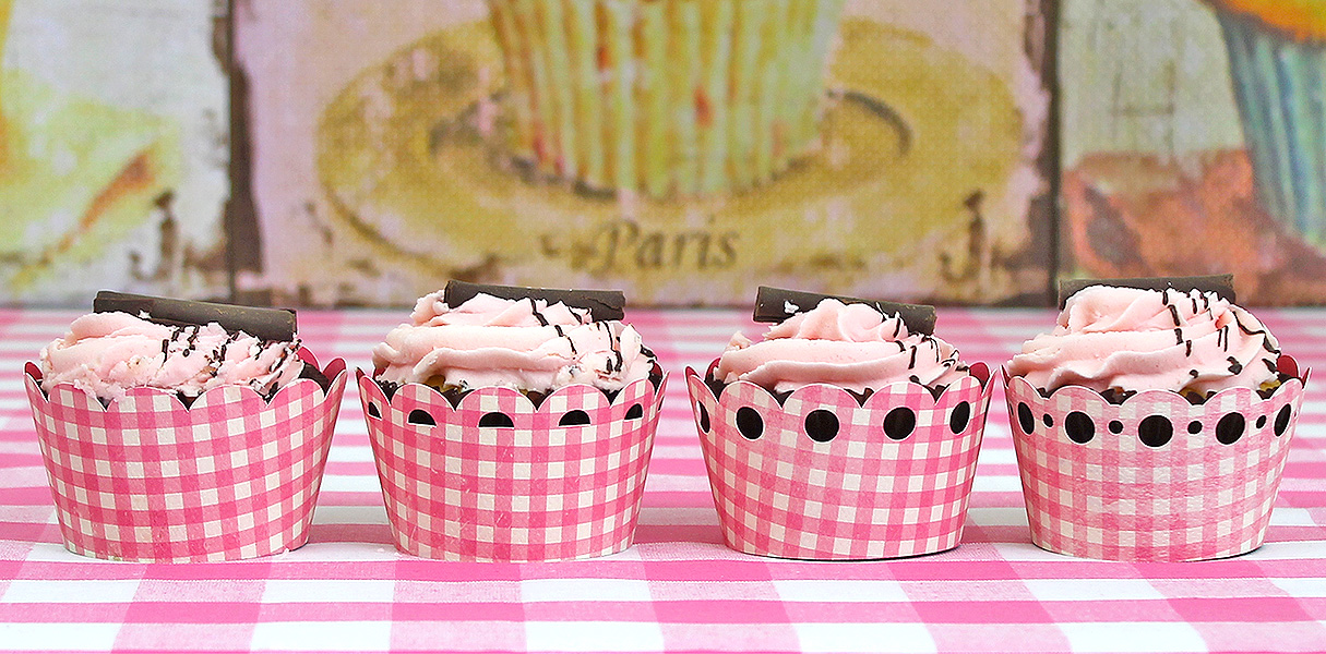 Card Cover SVGs Custom Decorative Cupcake Boxes