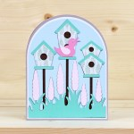 Bird Houses Card