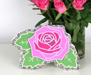 Layered Rose Card