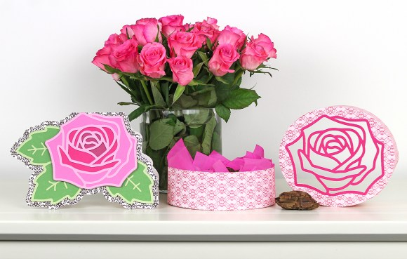 Roses are Pink open box