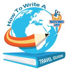 How to Write a Travel Guide Logo