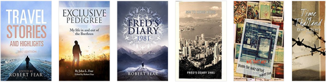 Travel Books by Robert Fear