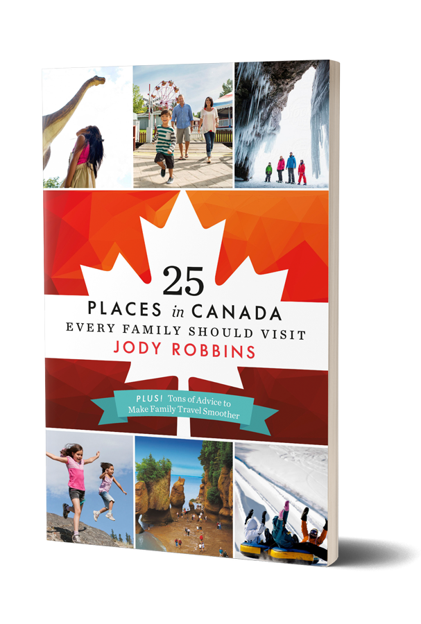Jody Robbins 25 Places in Canada Book Cover