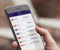 XE currency travel app