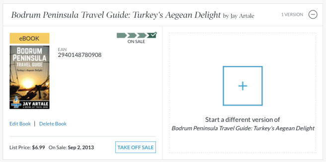 Bodrum travel guide on Barnes & Noble Press