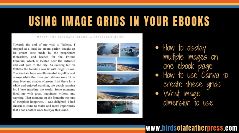 How to create image grids for your ebooks - Birds of a Feather