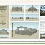 Chough release aviary plans. Photo by Naish Waddington Architects