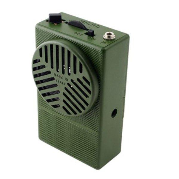 Micro 8 Canti - Richiami elettronico digitale tascabile per uccelli - Richiami digitali per Quaglie Bird Sound