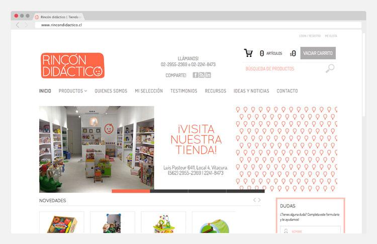Website Rincón Didáctico