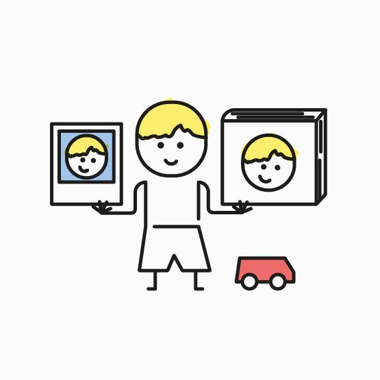 Bookli ist ein Kinderbuch für Kindergartengruppen, das für jedes Kind personalisiert wird.