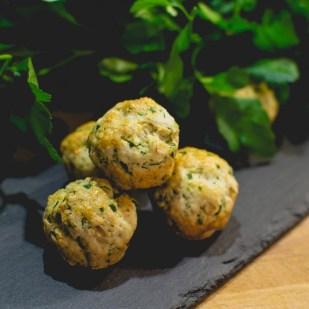 Kräuter-Mini-Muffins