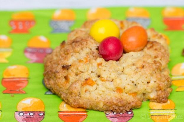 Cookies mit Möhren