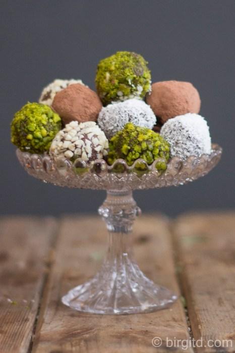 Schokoladen-Trüffel mit Asmussen Rum