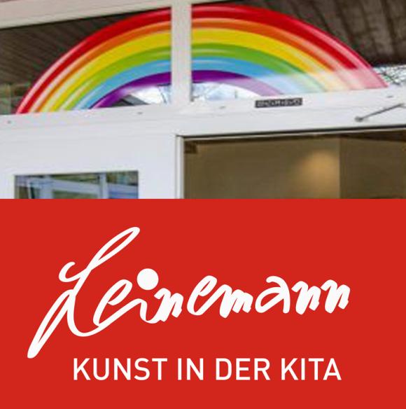 Info zu einem Kunstworkshop in einer Kindertagesstätte