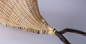 sculptural weaving by Birgit Moffatt
