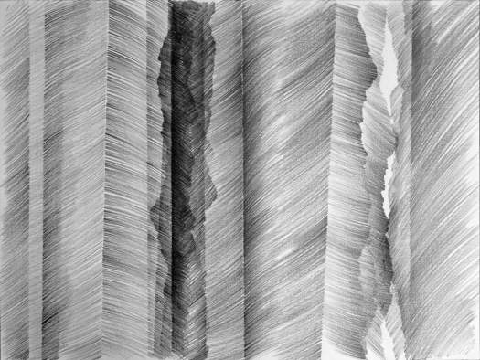Tekening, grafietstift op papier