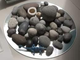 stenen in een schaal