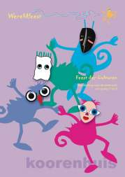 Voorblad brochure Wereldfeest, bovenbouw