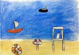 tekening jongen 7 jaar