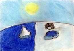 tekening meisje 8 jaar