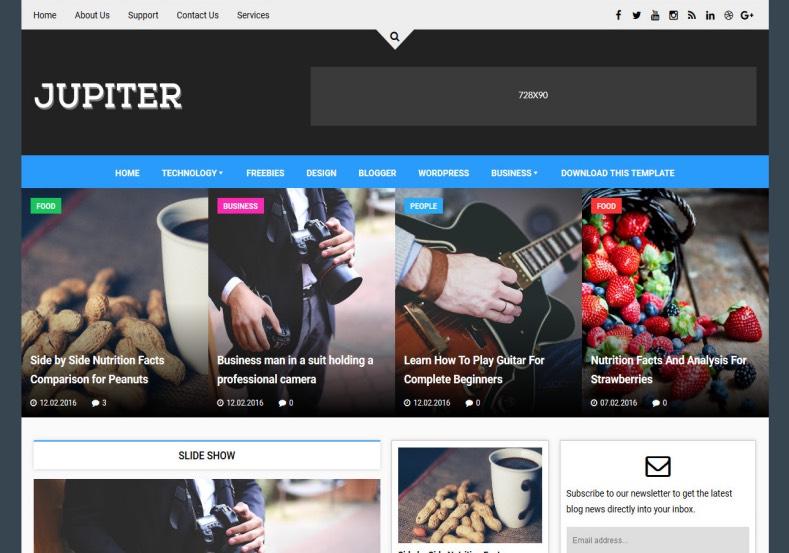 jupiter-blogger-theme