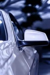 Bild: Detailansicht BMW 6er Cabrio. Fotografiert mit NIKON D700 und AF-S Micro NIKKOR 105 mm 1:2,8G VR.
