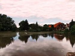 Bild: Die Bückemühle bei Gernrode, Harz.