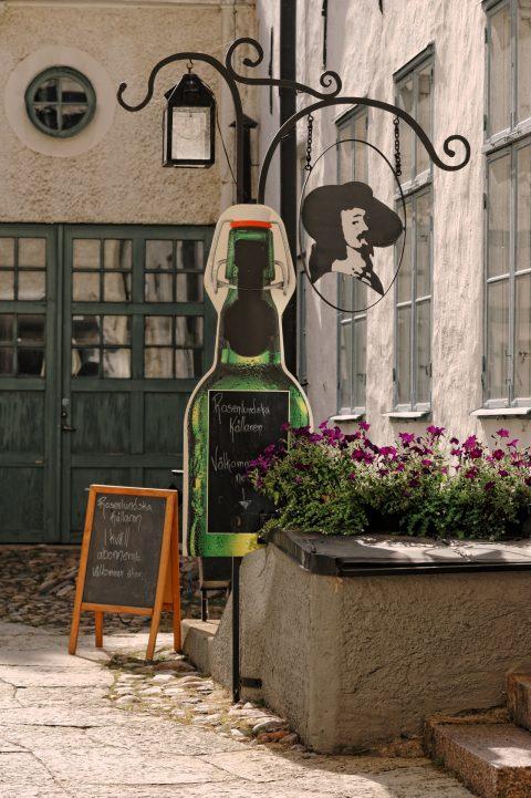 Bild: Kleine Brauerei in einem Hinterhof in der Altstadt von Kalmar. NIKON D700 mit AF-S NIKKOR 24-120 mm 1:4G ED VR.