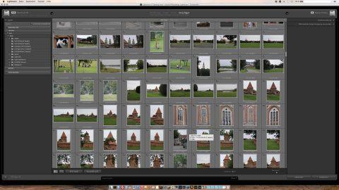 Bild: Der Import der Apple Aperture und Apple iPhoto Bibliotheken funktioniert auch per drag 'n drop.
