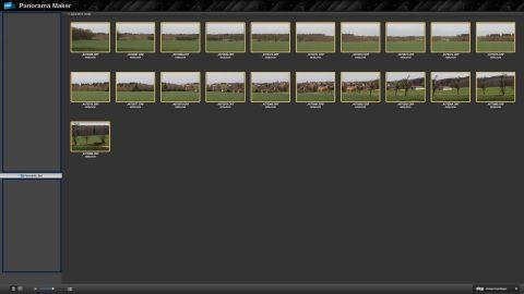 Bild: Mit Hilfe der Software ArcSoft Panorama Maker 7 wird aus 21 Einzelbildern ein Panoramabild errechnet. Klicken Sie auf das Bild, um es zu vergrößern.