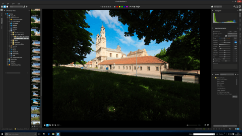 Bild: Corel AfterShot Pro 2 unter Windows 10.