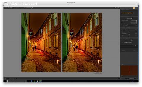 Bild: Google Nik Collection - Sharpener Pro 3 unter Windows 10. Links das Originalfoto im Format JPEG. Rechts das nachbearbeitete Foto im Format JPEG.