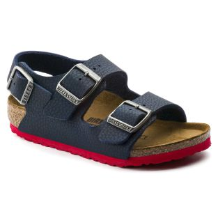 tendance-garçons-birkenstock-sandales-nu-pieds-nouvellecollection-semellesanatomiques-bleumarine-semellesrouge-fashion-mode-style-été2019-mlanodesertsoile