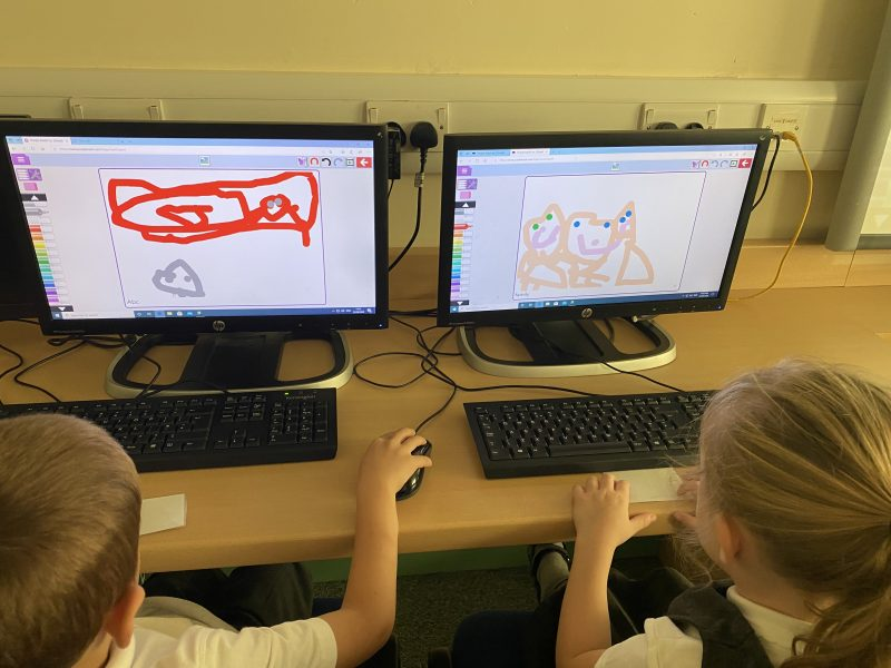 Caterpillars Spotted in the ICT Suite!