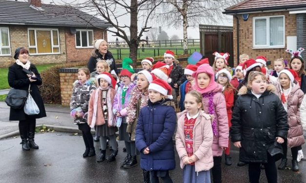 Christmas Carols on Tour in Cudworth