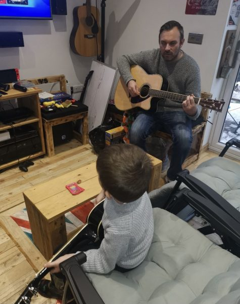 Music at home…